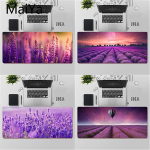 Maiya Top Quality Beautiful Purple lavender Comfort Mouse Mat Gaming Mousepad Free Shipping Large Mouse Pad Keyboards Mat