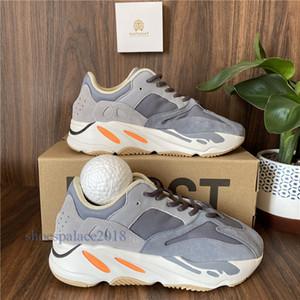 2021 Высочайшее качество Kanye West Running Shoes 700 Wave Runner Men Женские спортивные кроссовки инерции Светоотражающие аналог Tephra Wave Runner Runner Vanta Racer