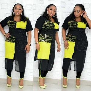 3XL 4XL Plus Size 2 Two Piece Set Women African Clothes Dashiki Fashion Africa Suit Top And Pants Super Elastic Party Suits Lady X0923