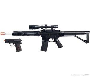 NEW M4 A1 M16 TACTICAL 어썰트 SPRING AIRSOFT RIFLE GUN w / PISTOL LASER LIGHT BB