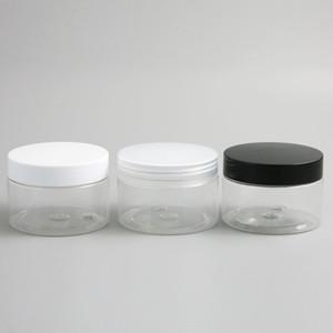 30 х Clear Frost Clear Big 120мл 120г 4 унций Пластиковые Круглый Крем Jar бутылки Лосьон Бальзам для макияжа Косметические Sample Упаковочный контейнер