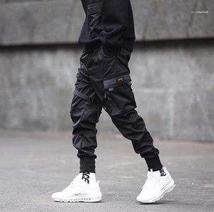 Teenager Pencil Pants Mens Functional Tactical Tooling Pants Casual Jogger Pants Spring Summer Trendy Trousers
