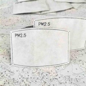 Carbon Anti PM2 Lot de polvo Activado Haze Paper Boot Filter Filter Mascarilla con .5 50pcs algodón xifld