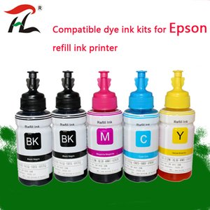 Kits de recarga de tinta 70 ml T664 Kit de tinte OEM para L220 L301 L303 L310 L313 L351 L353 L358 L360 L363 L365 L455 L551 L558 L585 L1300