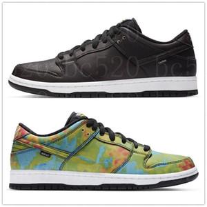 Los nuevos Mens Designer Shoes Fuente calor de reacción multicolor Civilista SB Dunk Low Monopatín del zapato mujeres de los hombres ocasionales de los deportes zapatillas de deporte 36-45 Entrenadores