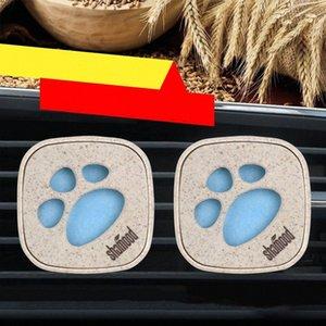 2pcs / set Car Deodorante presa del profumo della clip Diffusore Vetture Interni solido AC Vent Fragrance Clip Accessori regalo QoeC #