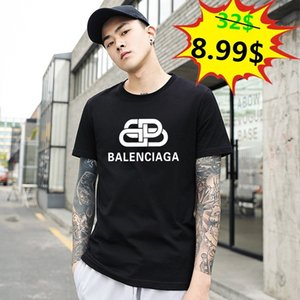 FF hombre del diseñador T Shirts Nueva verano básico sólido camiseta de los hombres del bordado de la camiseta del cráneo masculino manera de calidad superior 100% algodón Tees