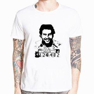 Pablo Escobar T-Shirt kolumbianische Drogen Herr Cartel Geld T-Shirt Sommer-Unterhemd-T-Shirt lustiges Stück-T-Shirts in Übergrößen