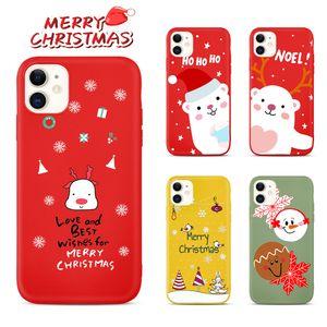 produttori caso di telefono cellulare di poco costoso cassa del telefono mobile con il colore del gelato per l'iphone 12 il regalo di Natale stampare cassa del telefono mobile