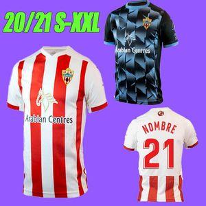 2020 Union Deportiva Almería casa Soccer Jersey 2020 2021 afastado GUTI NOMBRE Sekou MUNOZ CHEMA LAZO GASPAR PETROVIC Football Shirt