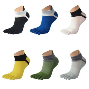 Summer Spring Men's Fashion Running Breathable Cotton Sports Casual Comfortable Reduced Pressure Five Finger Socks