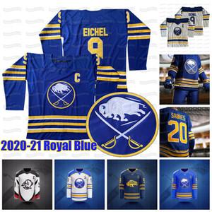 Jack Eichel Buffalo Sabres 2020 21 Revenir à Royal Blue Rasmus Dahlin Wayne Simmonds Jeff Skinner Okposo Ristolainen Mccabe Johansson Jersey