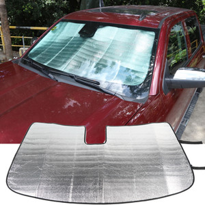 Windshield Sunshade, Front Window Sun Shade Foldable Sun Visor Sunscreen For Chevrolet Silverado 2014-2017 Interior Accessories