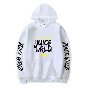 Рэпер сок Wrld Hip Hop Печать с капюшоном Мужчины Одежда с длинным рукавом моды Толстовки Толстовка Плюс Размер 4XL