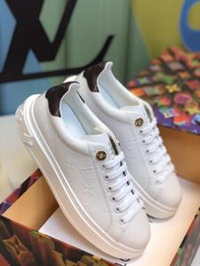 Kommen 2020 neue TIME OUT Turnschuhe Männer Art und Weise beiläufige Schuh-Designer Druck Schuhe Canvas Lederschuhe snerkers mit Kastenpaket B2