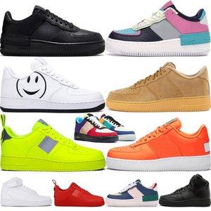 2020 منصة الأحذية للرجال والنساء الاحذية الثلاثي الأسود الأبيض شاحب فولت العاج الفستق فروست سكيت أحذية رياضية النساء رياضة حجم 36-45