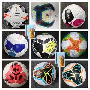Miglior palla PU Soccer ball dimensioni 2019 2020 Finale Kiev 5 palle granuli antiscivolo calcio Free shipping