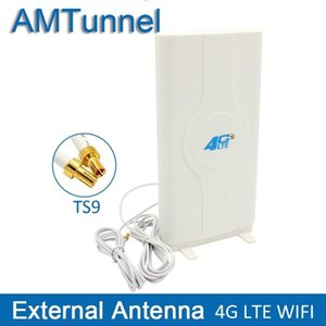 3g 4G LTE-Antenne 4g MIMO-Antenne ts9 Externe Panel Antenne CRC9 Sma Stecker 2m 700 -2600mhz Für 3g 4g Huawei Router Modem T200608