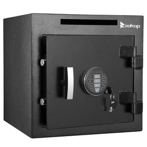 Electronic Password Storage Security Safe External Hinge Jewelry Gun Cash Document Safe Office Home Black New