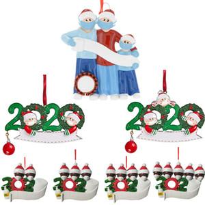 Карантин Новогоднего украшение рождения партии подарки продукт персонализированное семейство Pandemic руки Sanitized ПВХ Материал ПВХ 3D