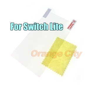 Protective film + cleaning cloth for Switch Lite HD Protector Screen NS Protective Screen Pet Film For switch lite