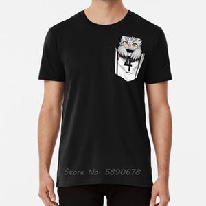 Tasche Eule Shirt Bokuto Koutarou Bokutowl Bokuto Fukurodani Haikyuu T-Shirt Men Cotton Tees Tops Harajuku