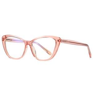 La luz azul gafas de moda óptica lente clara lectura UV400 gafas anti 2.020 hombres de las mujeres vidrios de las mujeres bloqueo del ordenador 2004