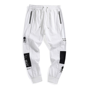 SONDR new jogging sweatpants men's casual overalls men's hip-hop street clothing tie-foot sports pants trousers