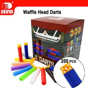 Waffle Darts 200pcs 7.2cm Refill für Nerf Reihen-Blasters-Kind-Spielzeug-Gewehr 200925