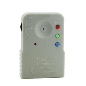 9V Multi teléfono con altavoz portátil profesional micrófono incorporado digitalizador inalámbrico Adaptador cambiador de la voz del sintetizador