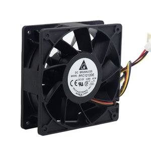 2pcs New 12038 12CM 120mm high speed cooling fan 12V 4.8A PFC1212DE violence 120*120*38mm