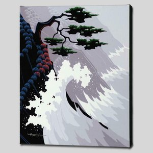 Larissa Holt Tsunami Home Decoration Handcrafts  HD Print Oil Painting On Canvas Wall Art Canvas Pictures 200923
