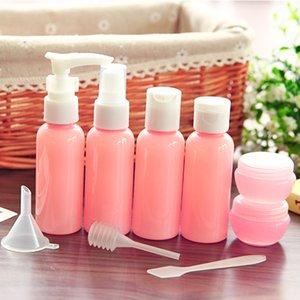 Refillable Travel Bottles Set Package Cosmetics Bottles Plastic Pressing Spray Bottle Makeup Tools Kit For Travel