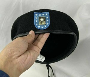 Us Army Infantry Regiment Wool Beret Special Forces Group Souvenir Insignia hat Store