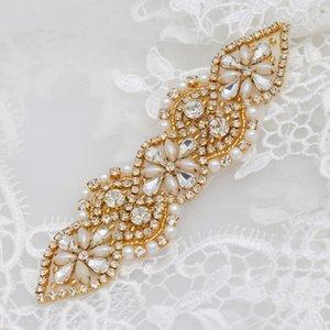 1tuMz Brautkleid Taille Kleidung Handgemachte Rhinestones Zubehör Strass Accessoires handmade exquisite Diamant Schwerindustrie Abziehbilder