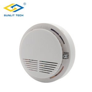 Wireless 433Mhz Smoke Fire Detector High Sensitive Fire Alarm Sensor Monitor Tester for Home Office Shop Security System Alarm