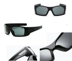 (Retail Sunglasses With Box)9 Colors For Man Woman 9101 Batwolfs Sunglasses Outdoor Cycling Sports Sunglass googel sun glasses.