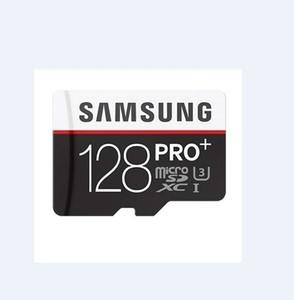 1PCS 32기가바이트 / 64기가바이트 / 1백28기가바이트 / 2백56기가바이트 삼성 PRO + 마이크로 SD 카드 CLASS10 / 태블릿 PC TF 카드 C10 / 카메라 메모리 카드 / SDXC 카드 90메가바이트 / S