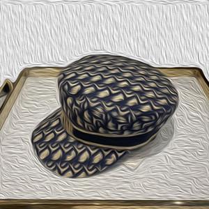 Newsboy sombreros nuevos de las mujeres tapas Armada manera pone letras señora sombrero sombrero de vanguardia de invierno muestran boinas del sombrero del otoño sombrilla 57cm regalo de Navidad