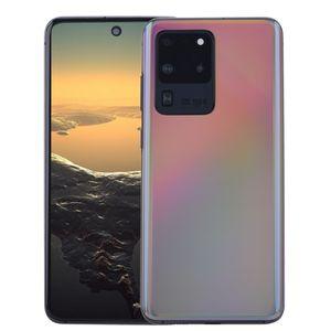 "2GB 16GB+32GB Android 10 6.9"" Punch-hole Full Screen Goophone GPS20 Ultra 5G S20U Quad Core 3G WCDMA Face ID Fingerprint 4 Camera Smartphone"