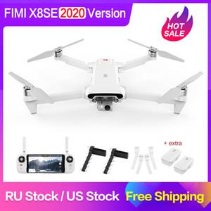 FIMI d'origine X8 SE 2020 RC Drone 4K HD Caméra 5KM FPV Flight Landing RTF batterie à distance Booster Pièces cadeaux gros LJ200911