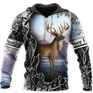 Liumaohua Fashion Camo AMO HUNTING ANIMALS deer ART 3D Hoodies Hoodie Men Women Hooded Sweatshirt Long Sleeve casual hoodies