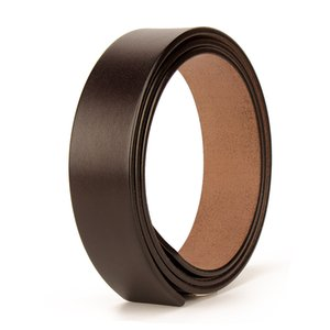 Leather Belt Mens Leather Non-Head Non-Hole Toothless Leather Belt Headless Waistband Full-Grain DIY Belt Accessories