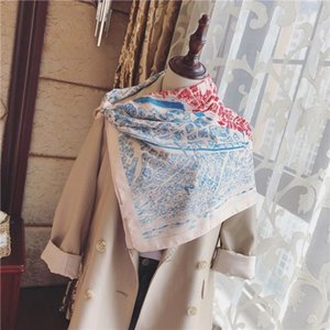Brand Gentle and temperament, ladies shawls & girls need a soft silk scarf, summer high-quality autumn and winter decorative scarf 104797