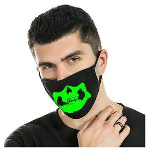 Máscaras Genuine máscaras contra poeira brilho luminoso Unisex Zoylink Zoylink Boca Máscaras Brilho Design Uma Qualidade Em Produtos yxlZe xhlight