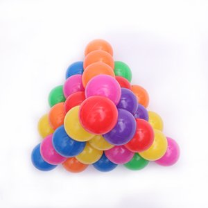 200pcs 5.5cm Fun Soft Plastic Ocean Ball Swim Pit Toys Baby Kids Toys Colorful