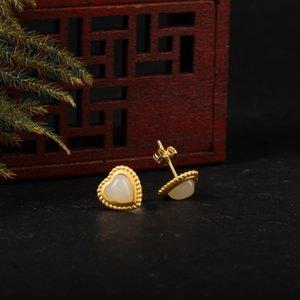 Comparer avec des articles similaires Luxe Classique Argent naturel calcédoine Bouddha de Jade Pendentifs Colliers longue chaîne Collier Femme Gi