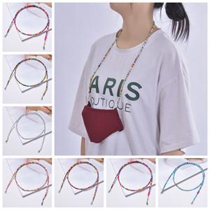 masque de perles de bohème mode corde suspendu masque chaîne de lunettes couleur anti-perte lunettes porte-extension masque Chaine FFA4424