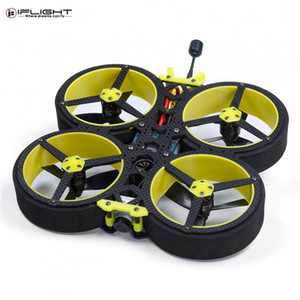 IFlight 142mm 3 pulgadas 4S SucceX E-F4 40A ESC BLHeli32 HD CineWhoop Para RC Drone Quadcopter BNF w / Unidad FPV 720 120 fps RSS