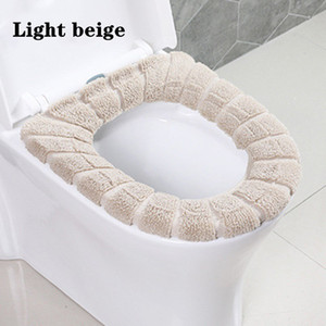 Universal Warm And Soft Washable Toilet Seat Cover, Used For Home Decoration Toilet Seat Cushion Box Toilet Lid Accessories